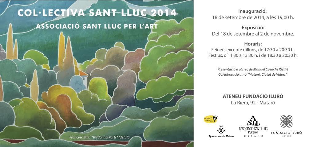 "FLYER ""SANT LLUC 2014"""