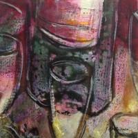 """Exposició """"Col·lectiva 15×15"""" 2015"""
