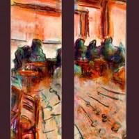 """Exposició col·lectiva """"punts de llibre"""" Sant Jordi 2014"""